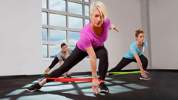 yogaband, träningsband