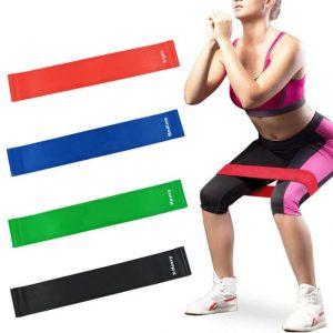 Yogaband, gummiband
